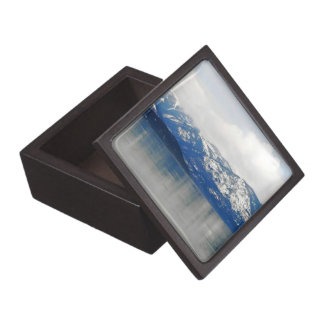 Mountains By The Lake Jewelry Box