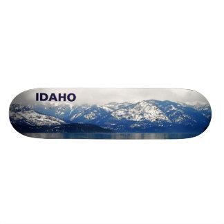 Mountains By The Lake Skateboard Deck