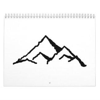 Mountains Calendar
