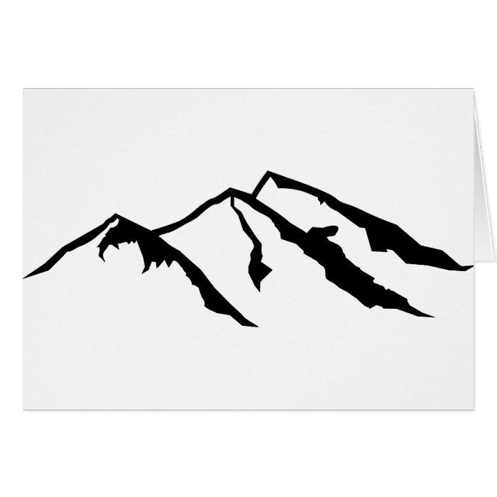 Mountains Card