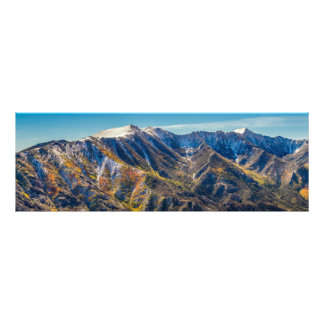 Mountains Changing Seasons Photographic Print