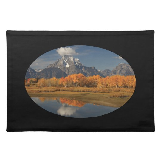 mountains cloth placemat
