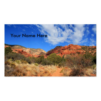 Mountains & Cloudscape Double-Sided Standard Business Cards (Pack Of 100)