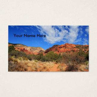 Mountains & Cloudscape Business Card