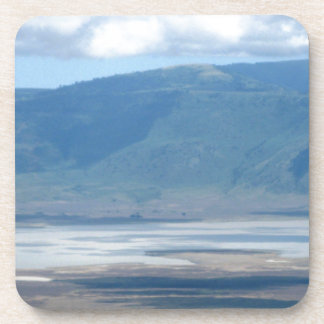 mountains drink coasters