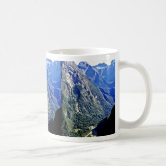 Mountains, Fiordland National Park Coffee Mugs