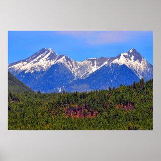 Mountains Flagstaff Arizona Poster