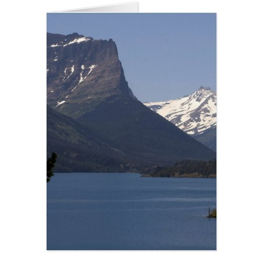 Mountains Glacier Parks Greeting Card