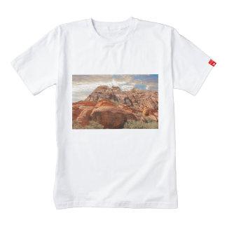 Mountains HDR photo Zazzle HEART T-Shirt