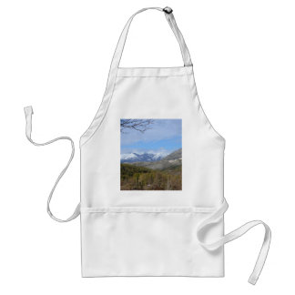 Mountains In Calabria Adult Apron