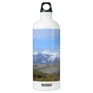 Mountains In Calabria Water Bottle