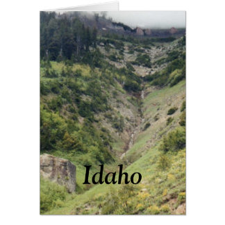 mountains in Idaho Card