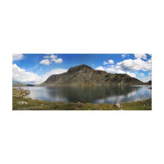 Mountains in Jotunheimen, Norway Canvas Print