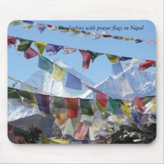 Mountains in Nepal Mouse Pad