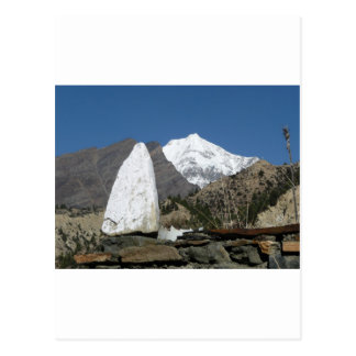 Mountains in Nepal Postcard