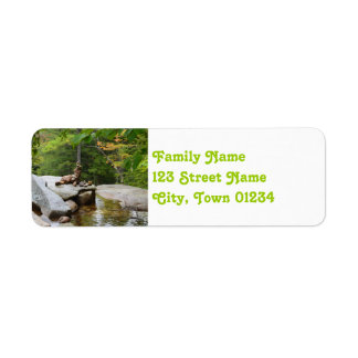 Mountains in New Hampshire Return Address Label