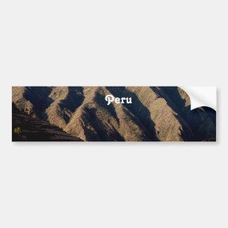 Mountains in Peru Bumper Sticker