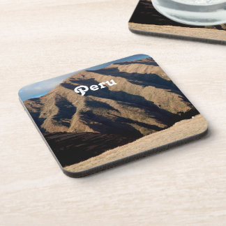 Mountains in Peru Beverage Coaster