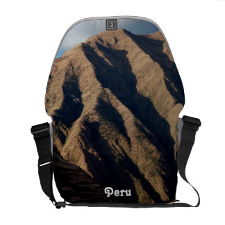 Mountains in Peru Courier Bags