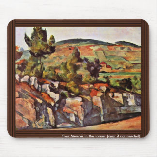 Mountains In Provence By Paul Cézanne Mousepads