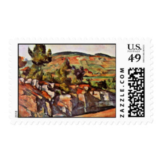 Mountains In Provence By Paul Cézanne Postage