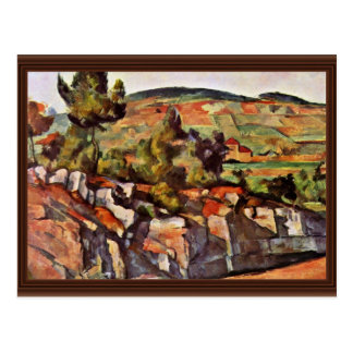 Mountains In Provence By Paul Cézanne Postcard