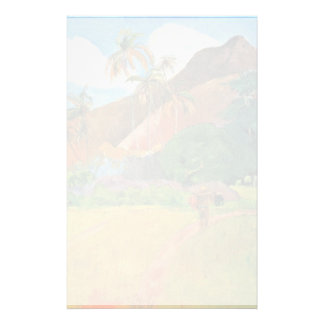 Mountains In Tahiti By Gauguin Paul (Best Quality) Stationery