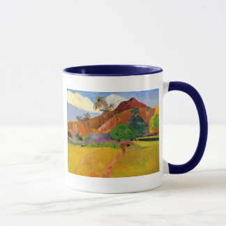'Mountains in Tahiti' - Paul Gauguin Mug