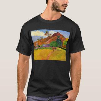 'Mountains in Tahiti' - Paul Gauguin T-Shirt