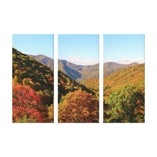 Mountains in the Fall Canvas Print
