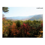 Mountains In The Fall Postcard