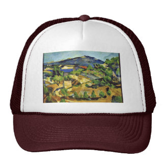 Mountains In The French Provence By Paul Cézanne Trucker Hat
