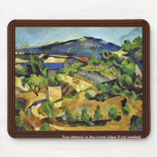 Mountains In The French Provence By Paul Cézanne Mousepads