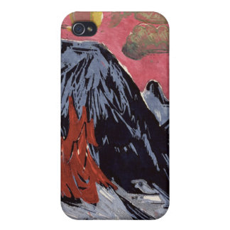 Mountains in Winter, 1919 iPhone 4 Cover