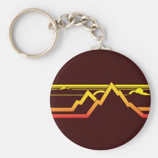 Mountains Key Chain