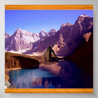 Mountain's Lake Poster