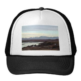 Mountains Landscape Mesh Hats