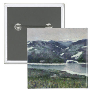 Mountains landscape painting pins