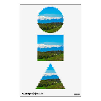 Mountains landscape room decals