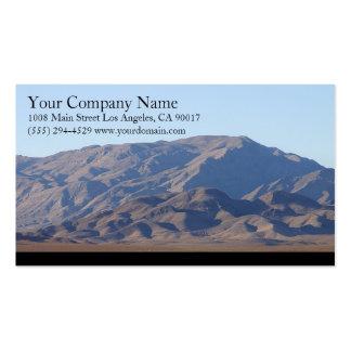 Mountains Light Blue Sky Business Card