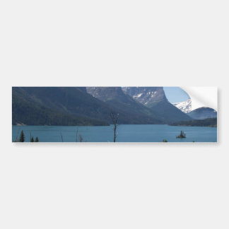 Mountains Maontana Glacier Parks Bumper Sticker