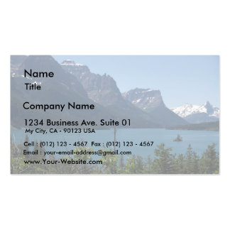Mountains Maontana Glacier Parks Business Cards