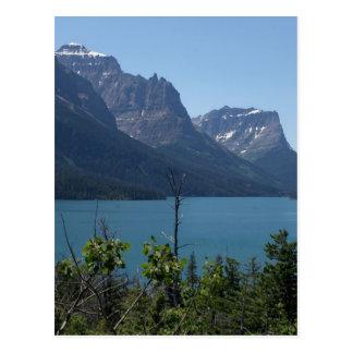 Mountains Maontana Glacier Parks Postcard