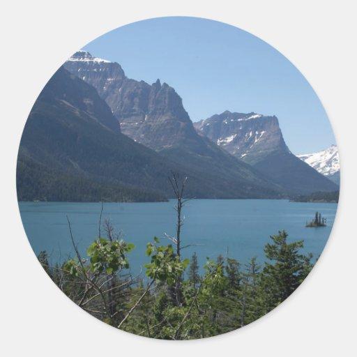 Mountains Maontana Glacier Parks Stickers