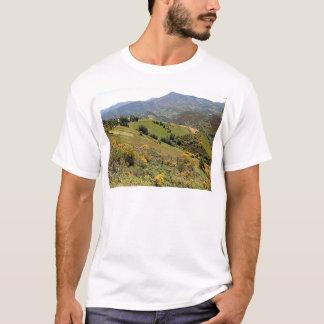 Mountains near O'Cebreiro, El Camino, Spain T-Shirt