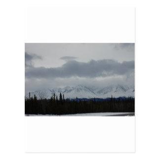 Mountains Of Alaska Postcard