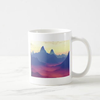 Mountains of Another World Coffee Mug
