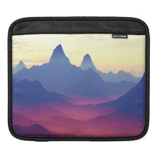 Mountains of Another World iPad Sleeve