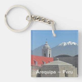 Mountains of Arequipa Peru Keychain