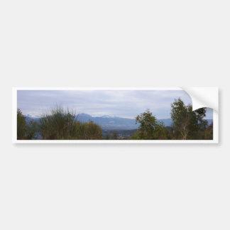 Mountains Of Calabria Car Bumper Sticker